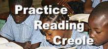 practice reading creole